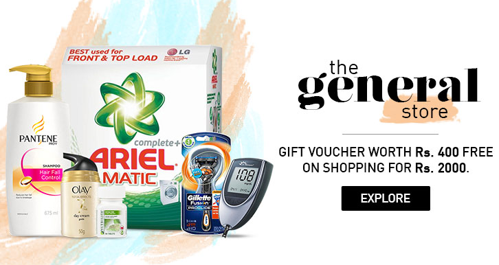 d0d86a357 Snapdeal General Store Offer   Get Gift Voucher Worth Rs.400 on ...