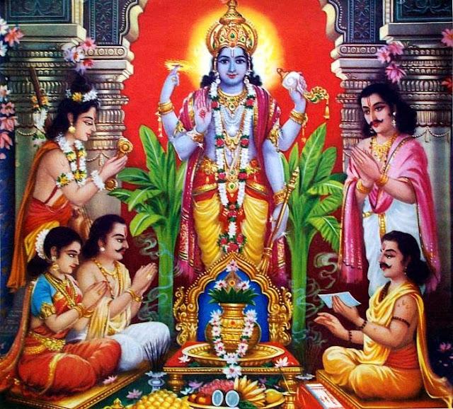 Satyanarayan Bhagwan.