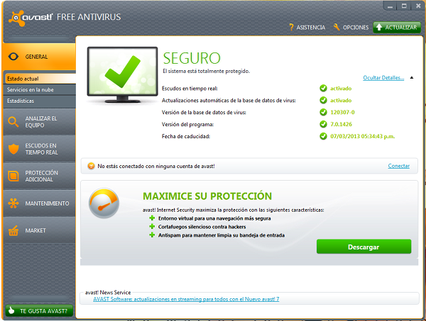 Avast Antivirus 9.0.2021 - Download Full Version - Downlod ...