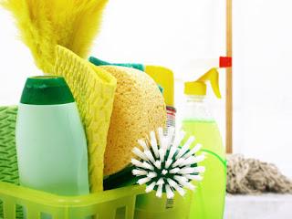 Piensa verde cuando limpias