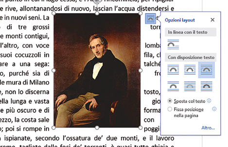 Come ridimensionare l'immagine in word