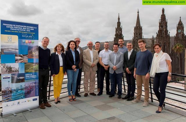 Santa Cruz de La Palma prepara la Conferencia Transnacional Ecotur-Azul de turismo náutico, que se celebra en septiembre