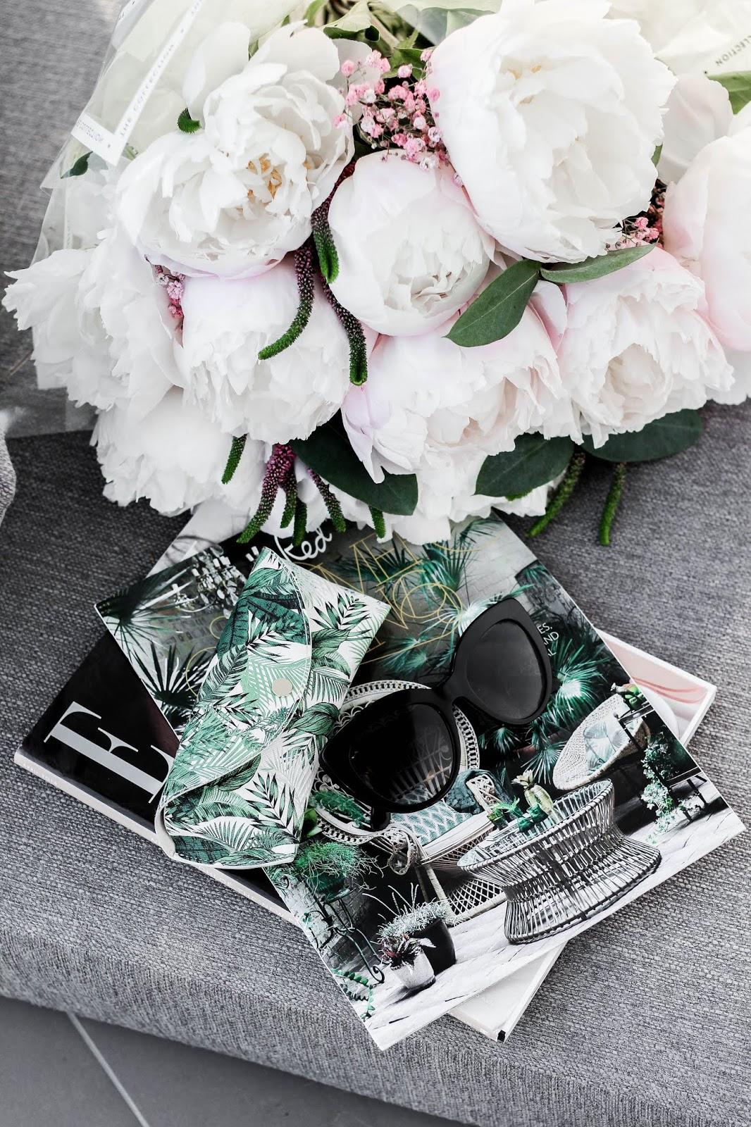 Dolce & Gabbana Designer Sunglasses Summer Flatlay
