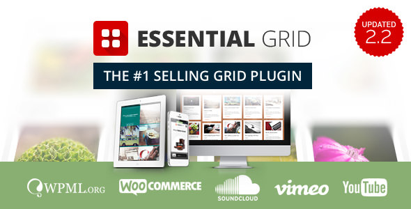 ESSENTIAL GRID V2.2.3 – WORDPRESS PLUGIN