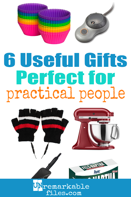 Do you have a very practical person on your gift list who's impossible to shop for? I understand your pain, because I'm that person. I only want useful gifts, if I even want anything at all! But I personally own and love all of these useful gifts for the home, and I know one of them is certain to be the perfect practical gift to buy for the hard-to-shop-for people you love. #giftsforwomen #christmas #giftideas