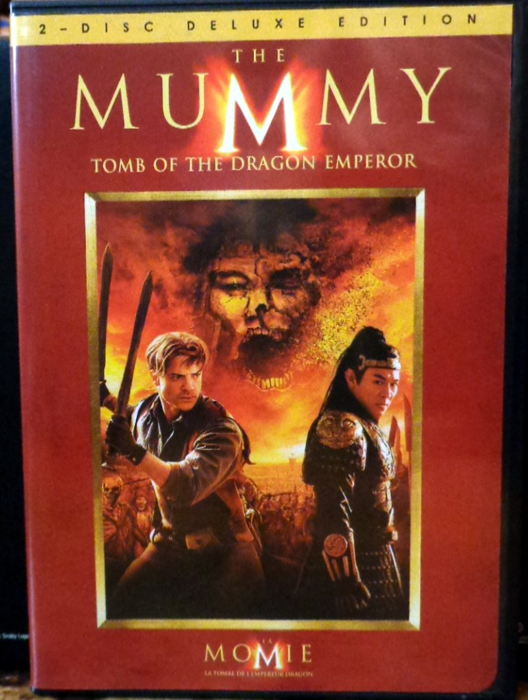 Movies On Dvd And Blu Ray The Mummy Tomb Of The Dragon Emperor 2008