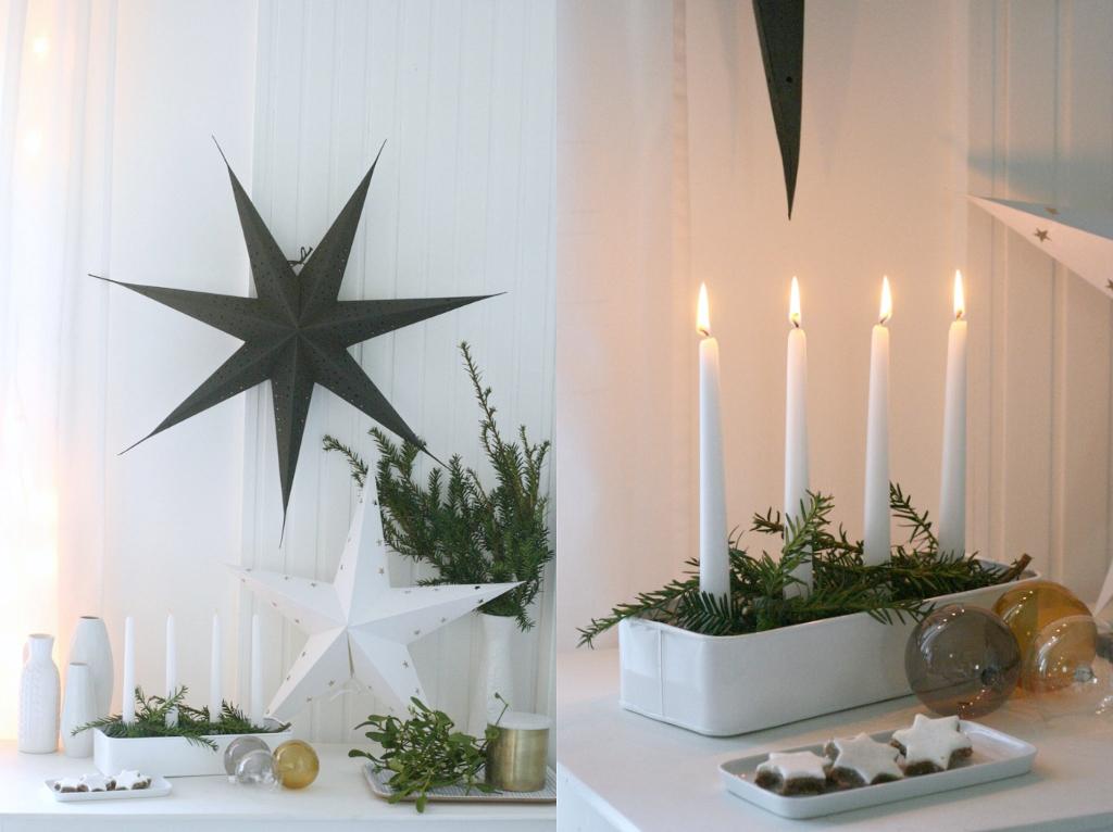 Schwedische Weihnachtsdeko.Frollein Pfau Weihnachten Mit Granit