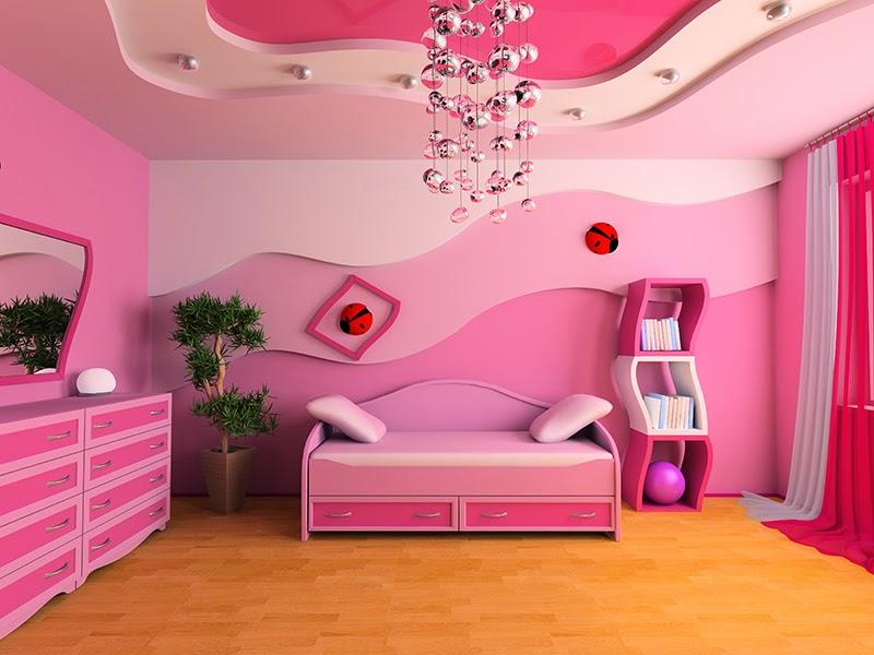 10 dormitorios color rosa para ni a dormitorios colores for Recamaras rosas