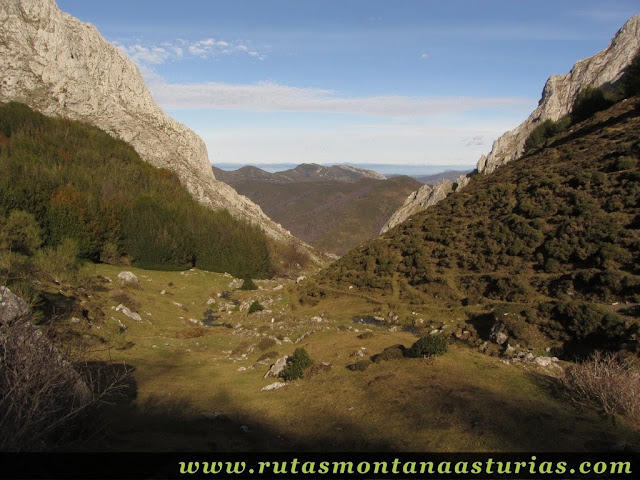 Entrando en Foix Pequeña