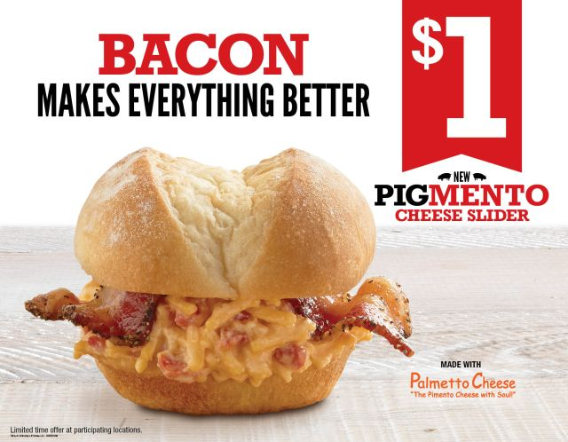 Arby 39 s offers pigmento cheese slider at one location for for Arby s 2 for 5 fish