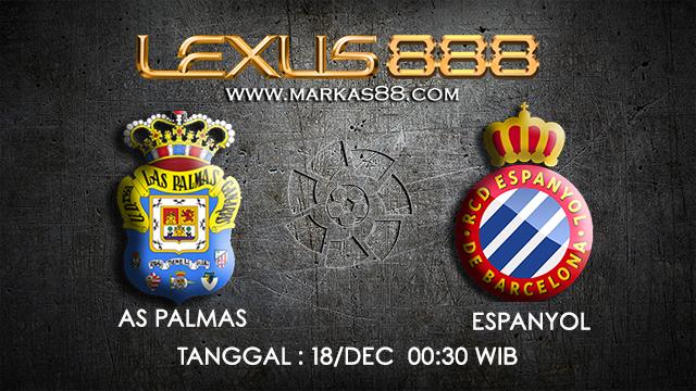 PREDIKSI BOLA ~ PREDIKSI TARUHAN BOLA LAS PAMAS VS ESPANYOL 17 DESEMBER 2017 (Spanish La Liga)