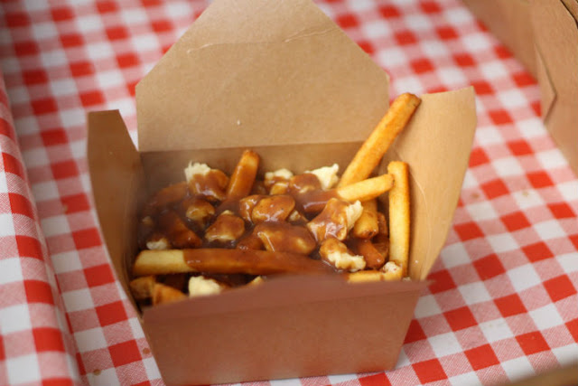 Canadian Food at The Poutinerie
