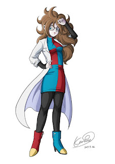 Dragon Ball Z Fighterz Android 21