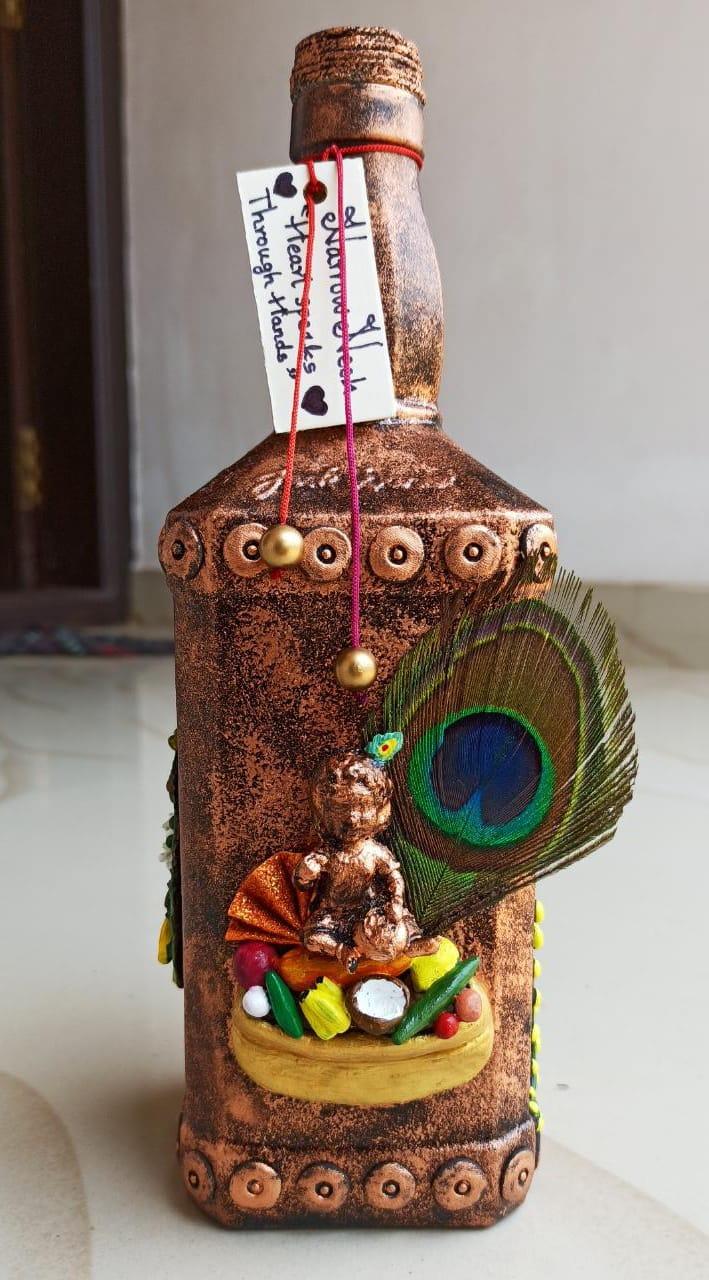 Loard Sreekrishna, Bottle Art