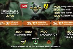 AoE Miền Nam Open III: Chính thức công bố lịch thi đấu