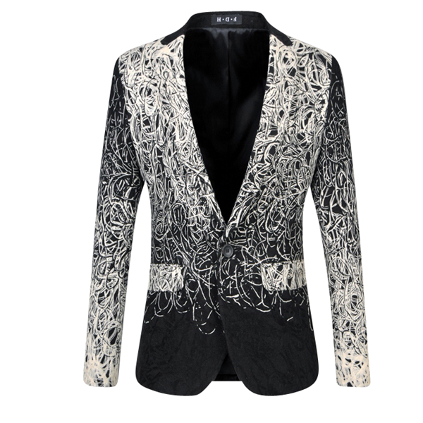 fab9c904a A New Look At Mens Fashion: The Abstract Gradient Blazer | Blazer ...