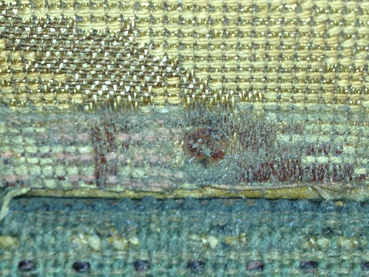 Inside the Conservator's Studio: Cleaning the textile wall