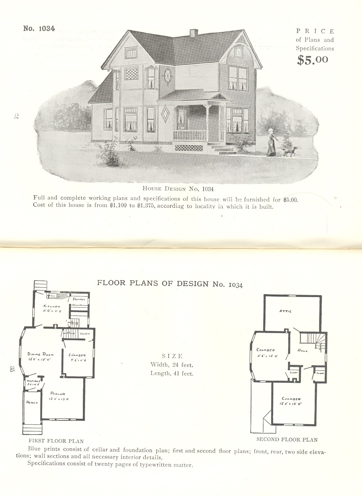 A small collection of 25 Radford Architectural Company House Plans from  1908.
