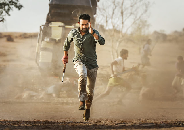 Jr NTR movie Stills in Aravindha Sametha Film