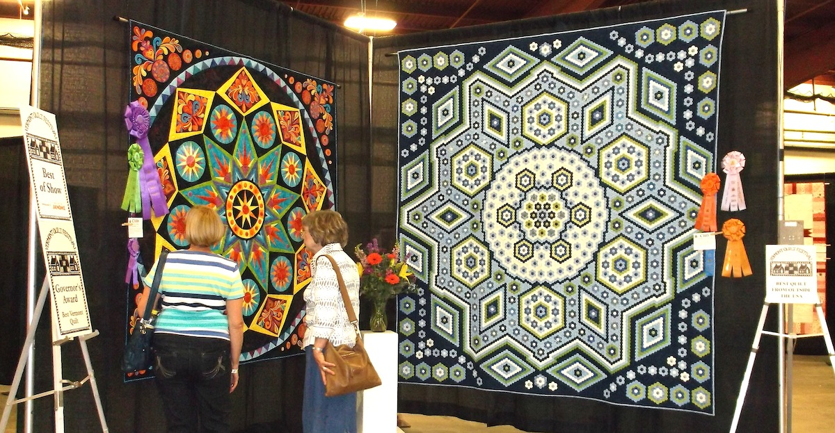 Eyelets in the Seams: Fun at the 2015 Vermont Quilt Festival : vermont quilt festival - Adamdwight.com