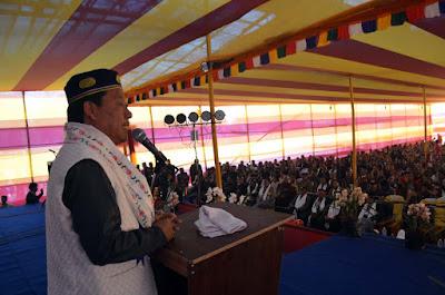 Bimal Gurung in Tamang Adhiveshan Mungpoo