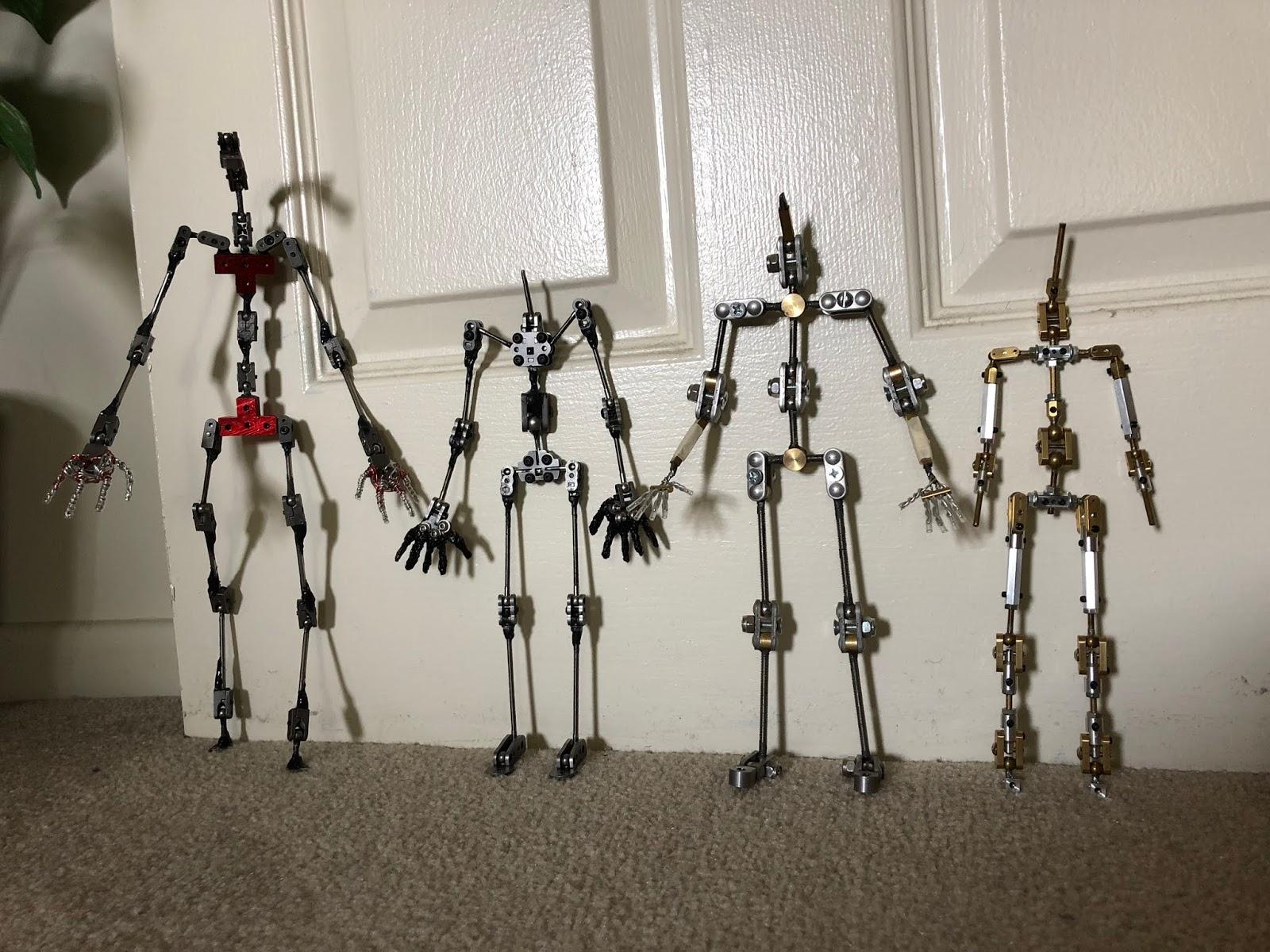 Stop motion armature kit uk