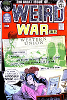 Weird War Tales v1 # 2 dc bronze age comic book cover art by Joe Kubert