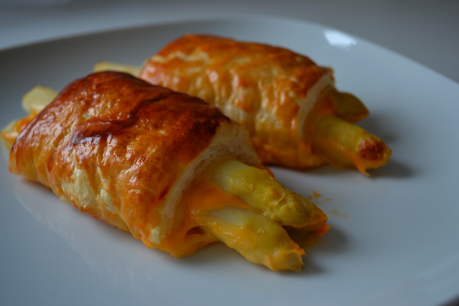 spargel in blätterteig schinken käse