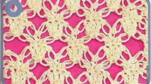 Patrón de punto crochet