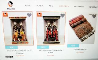 Produk Keris Griya di Batik Keris online