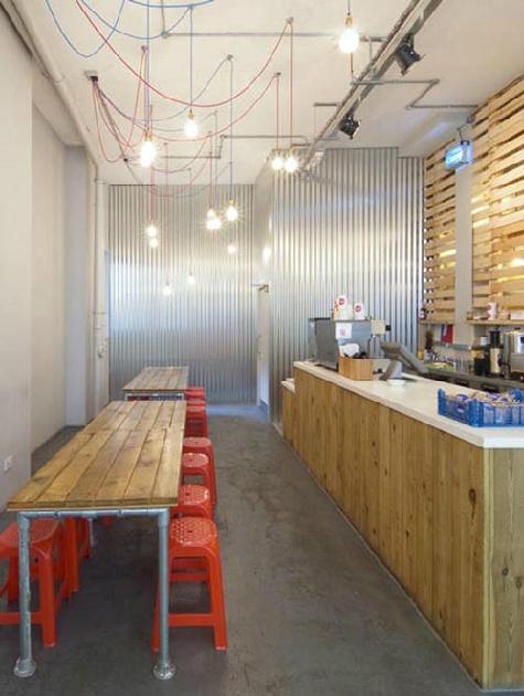small restaurant with simple interior design - Small Restaurant Design Ideas