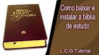 Baixar a bíblia de estudo