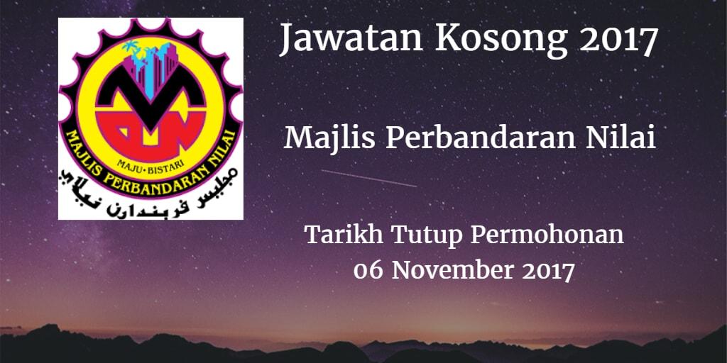 Jawatan Kosong MPN 06 November 2017