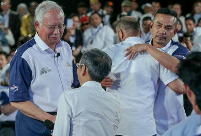 Video Jarak Dekat David Teo Di Tampar Mat Over Depan PM Najib