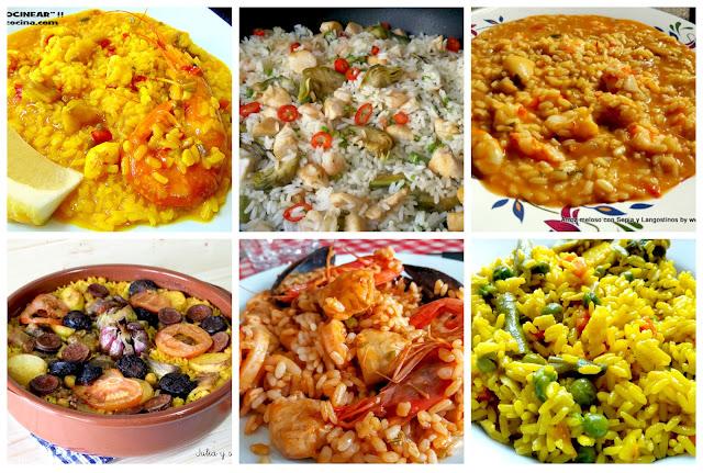 6 recetas de arroz fáciles