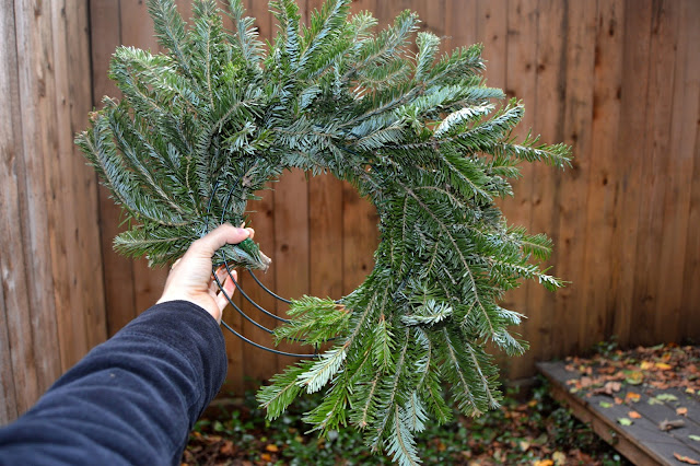 Fresh Bough Wreaths, Christmas Wreaths, DIY Wreath