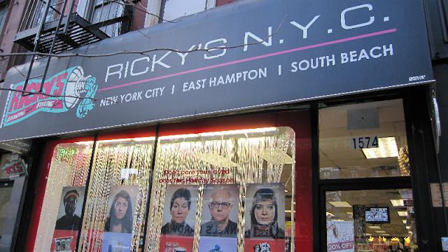 Loja Ricky's em Nova York