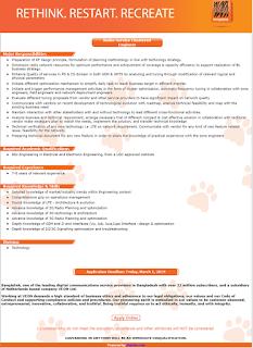 Banglalink Job 2019
