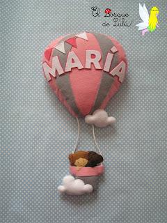 nombre-fieltro-felt-feltro-elbosquedelulu-hechoamanoparati-regalo-personalizado-globo-erostático-name-banner-babyroom-nacimiento-decoración-infantil