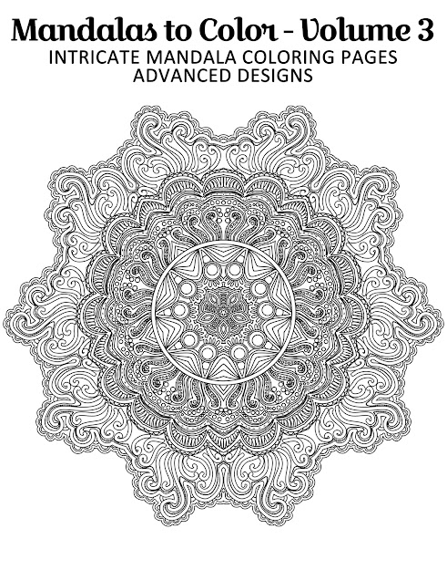 Free Printable Mandala Coloring Page From Mandalas To Color  Intricate  Mandala Coloring Pages Advanced