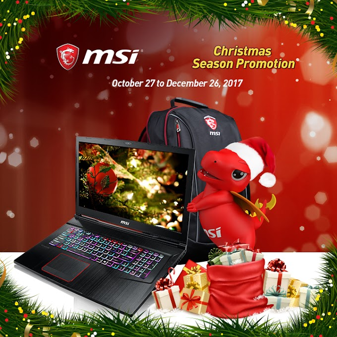 MSI Launches Christmas Season Sale
