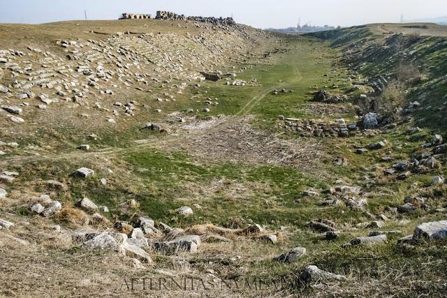 El enorme Estadio de Laodicea ad Lycum.