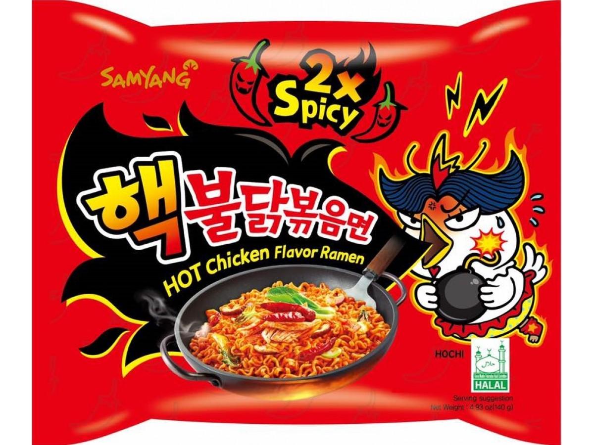Level Pedas dari Ramen Spicy Chicken