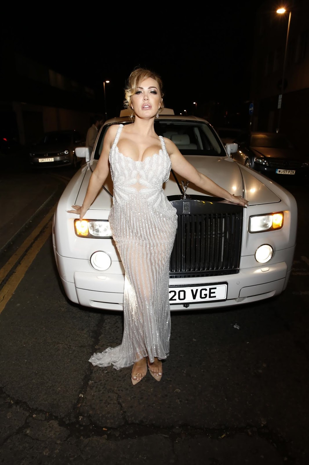 Aisleyne Horgan-Wallace at her 40th Birthday Party at Tarshish - London
