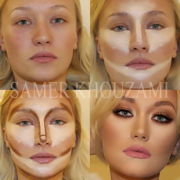 O que podemos fazer é usar os contornos para cada tipo de rosto como base e  ir fazendo os ajuste de acordo ... 1c37d71a45