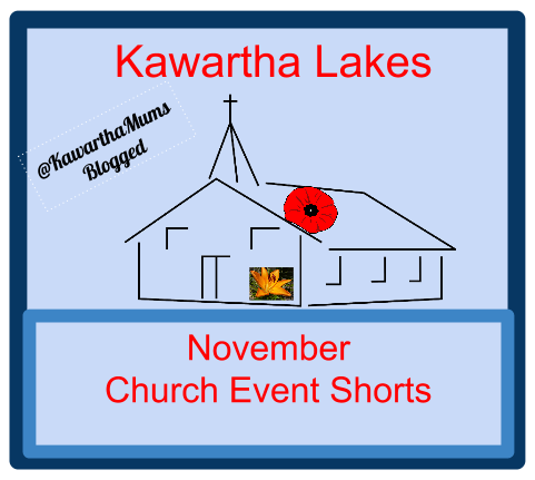 Kawartha Lakes Events: November Church events showing church with poppy and amarillis