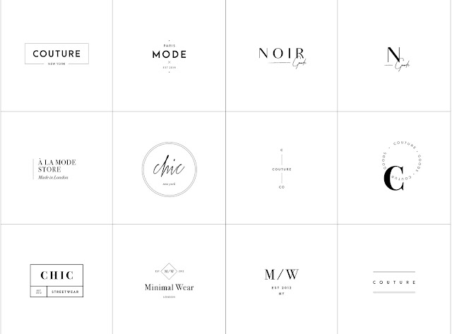 download free 40 minimalist logo templates grafobia