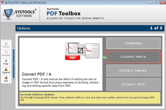 Convert PDF/A and reduce the effort of editing the text or image in PDF format