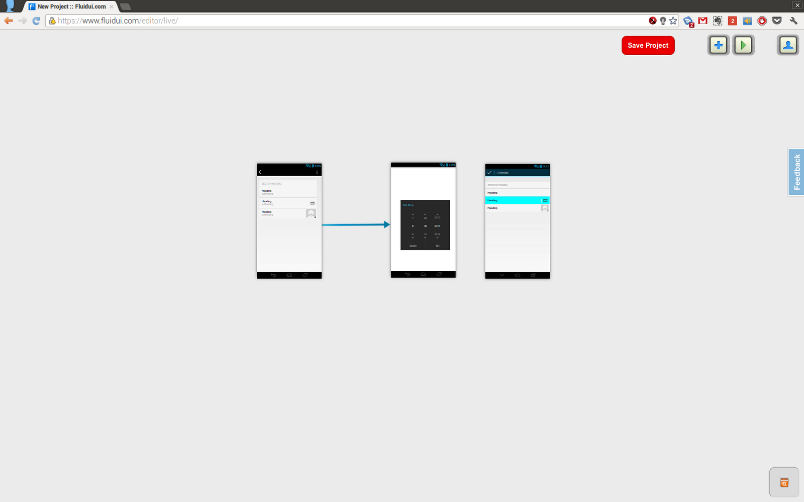 Fluid UI - Wireframing for Android - DZone Java