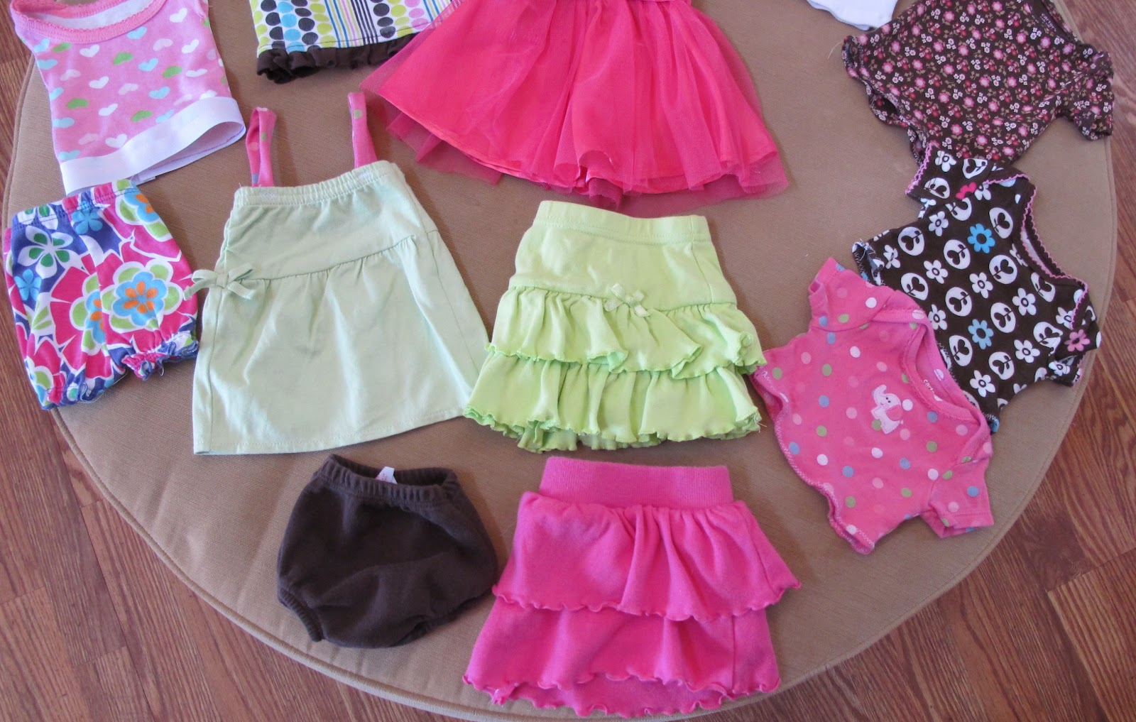Gigglesandgumballs From Baby Clothes To Doll Clothes